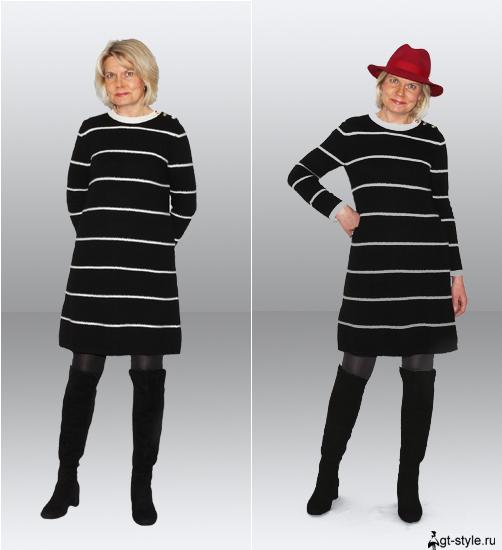трикотажные платья фото