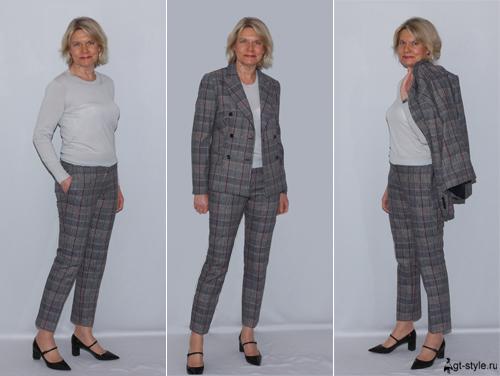 брючные костюмы женские фото