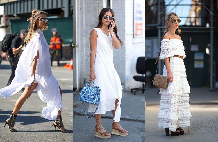 белые платья фото