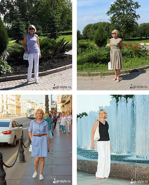 летние образы фото
