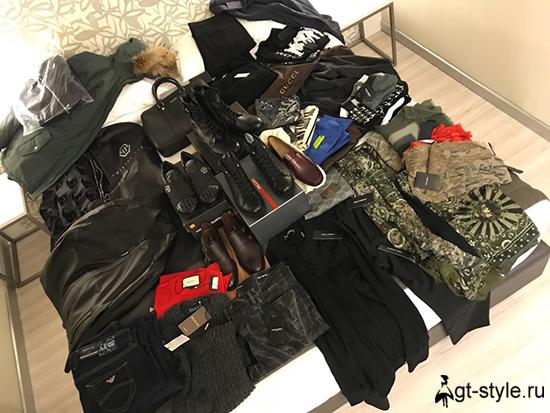 мужской гардероб фото