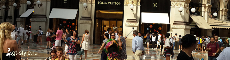 шоппинг тур в милан