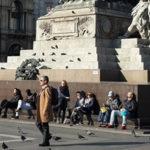 Милан в марте-апреле