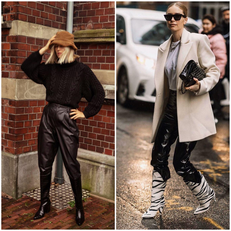 брюки с сапогами фото