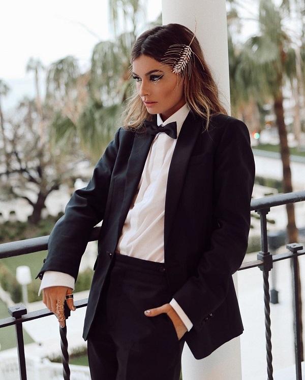 34. Женские галстуки в тренде