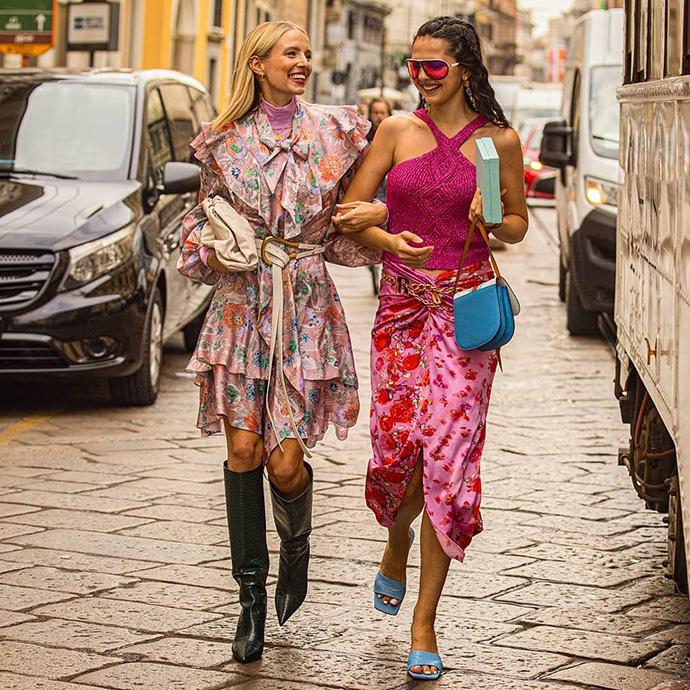 уличная мода весна фото